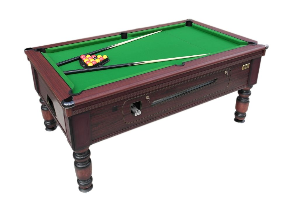 BRAND NEW Ft X Ft ROSETTA TRADITIONAL POOL TABLE SLATE BED COIN - Brand new pool table