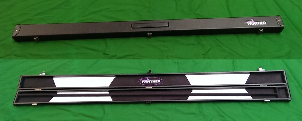 Panther Snooker Pool Billiard Cue Case Suede Lining For Jointed - Panther pool table