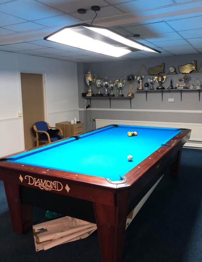 Charmant ROSETTA LED 9ft AMERICAN POOL SNOOKER TABLE PRO TOURNAMENT STYLE LIGHT  SHADE   302491479177