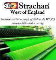 "Strachan 6811 Tournament English Green ""Gold"" Quality Snooker Table 100% Wool Cloth"