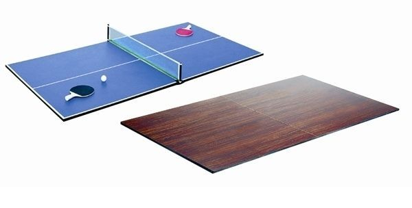 TABLE TENNIS DESK DINING TOP CONVERTOR FOR POOL SNOOKER TABLE COVER WORKTOP